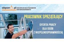 Pracownik sprzątający - praca stacjonarna w Bolesławcu