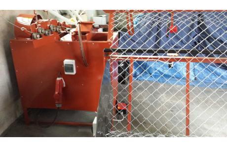 Maszyna do produkcji siatki ogrodzeniowej+zwijarka