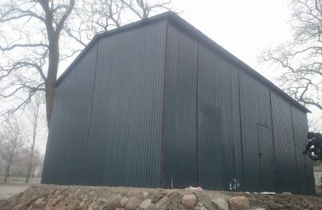 Garaż blaszany, garaże, hala blaszana, wiata.
