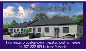 Nochowo Śrem Mieszkanie Tisz Invest tel. 601822619 Piasecki