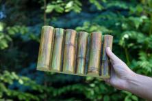 Bambus panel 3D poliuretan styl japoński