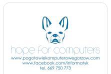 Usługi Komputerowe, Informatyk, Odzyskiwanie danych, Gorzów Wlkp.
