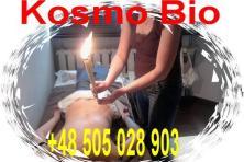 Kurs świecowanie konchowanie uszu z czakroterapią i aromaterapią,terapia konchami hopi na ciele,masa