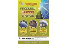 FOTOWOLTAIKA SYSTEM, Bądź niezależny, produkuj własny prąd