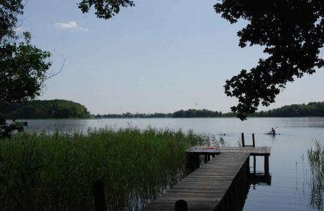 Całoroczny domek nad jeziorem- w ińskich parkach krajobrazowych