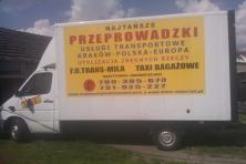 Trans-Mila najtańsze przeprowadzki transport Kraków Europa