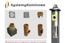 Komin Ceramiczny Systemowy Uniwersalny do wszystkich rodzajów paliw.