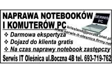 Pogotowie Komputerowe Oleśnica i okolice 693719762