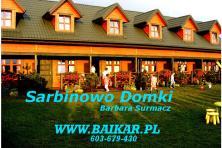Sarbinowo Domki BAIKAR Barbara Surmacz Zacisze 1