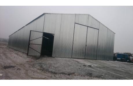 Garaż blaszany, wiata garażowa,hale.
