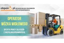 Operator wózka widłowego – praca stacjonarna w Gliwicach