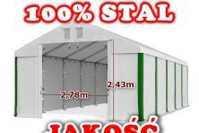 6x10m namiot magazynowy przemysłowy handlowy garażowy 60 m 2 magazyn