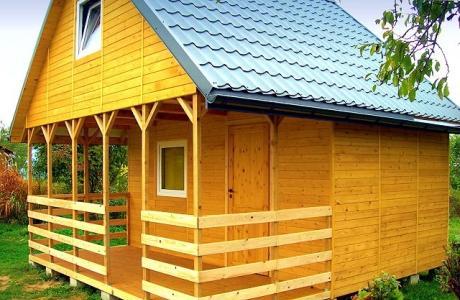 Oferuję nowy piętrowy domek całoroczny