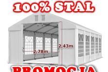 6x10m Namiot WESELNY wzmocniony PAWILON eventowy HANDLOWY ogrodowy