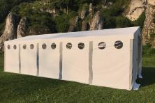 6x10x2,5m Namiot HANDLOWY magazynowy PRZEMYSŁOWY całoroczny fi50