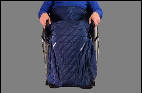 Śpiwór na wózek inwalidzki