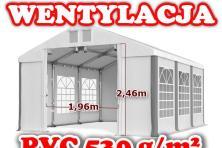4x6m Namiot BIESIADNY handlowy PAWILON ogrodowy CAŁOROCZNY komunijny