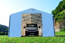 5x8x2,5m Namiot MAGAZYNOWY przemysłowy HANDLOWY całoroczny fi50 WYSOKI