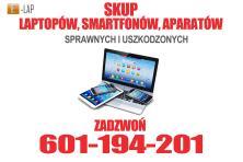 Skup laptopów, telefonów, aparatów sprawnych i uszkodzonych – Wałbrzych i okolice