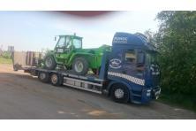 Transport maszyn przemysłowych
