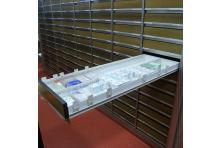 Meble apteczne system głębokiego składowania magazynowe sprzdam