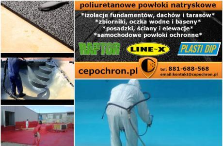 Baseny, Oczka Wodne, Hydroizolacje - LINE-X !!